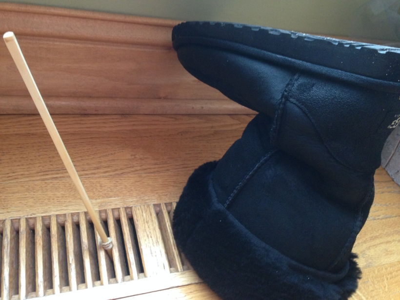 Domestic Goddess Tip : Drying Boots